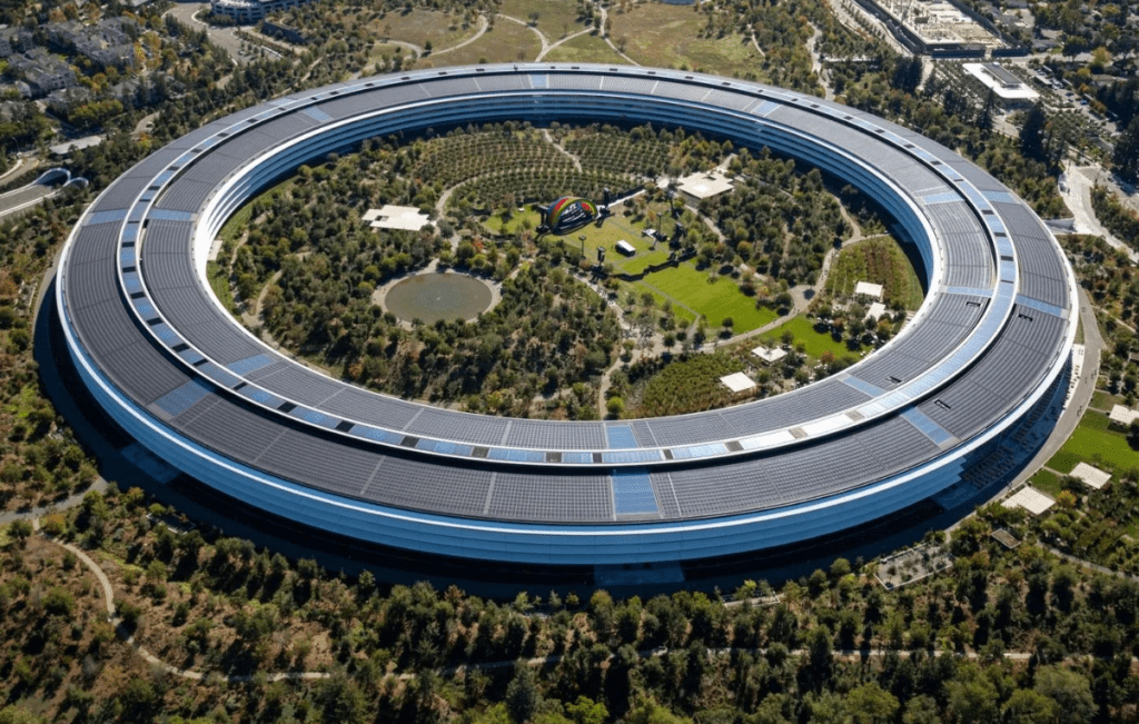 Штаб квартира компании Apple