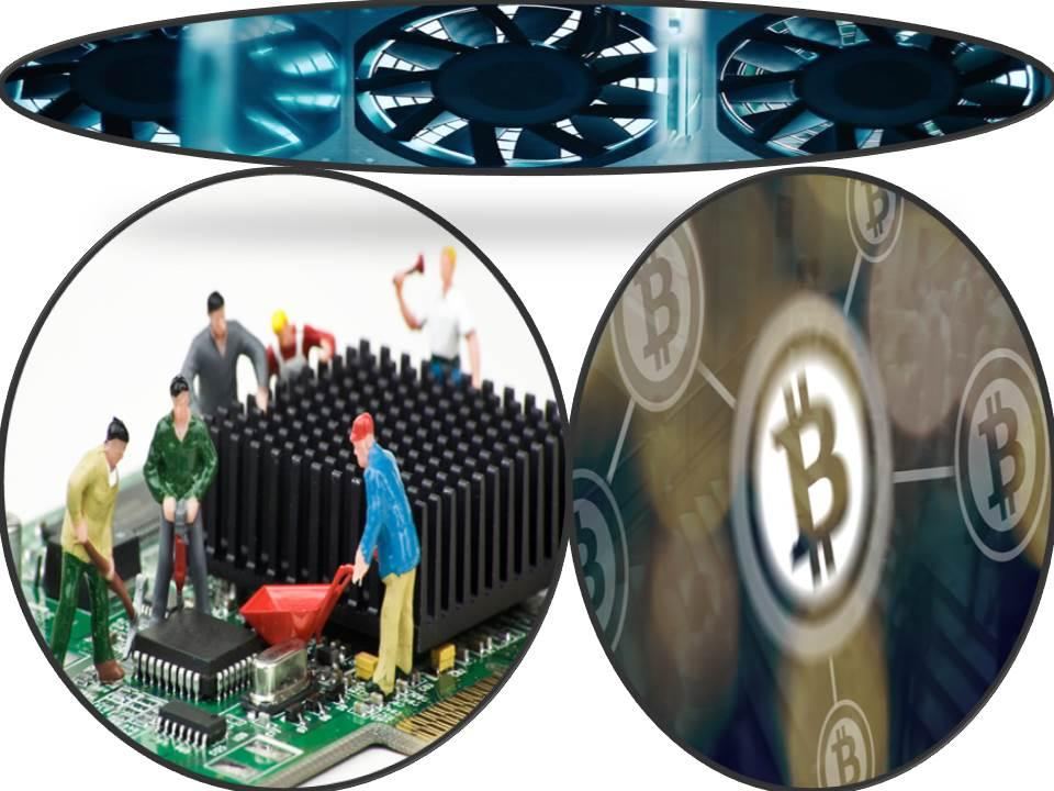 процесс добычи крипты