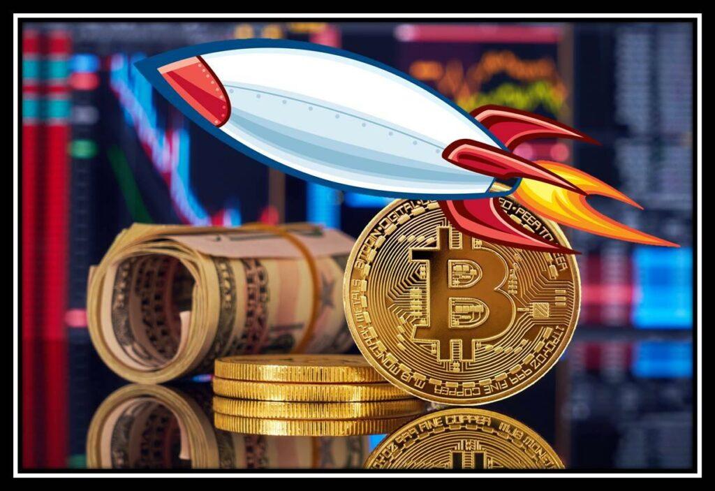Рост стоимости криптовалюты