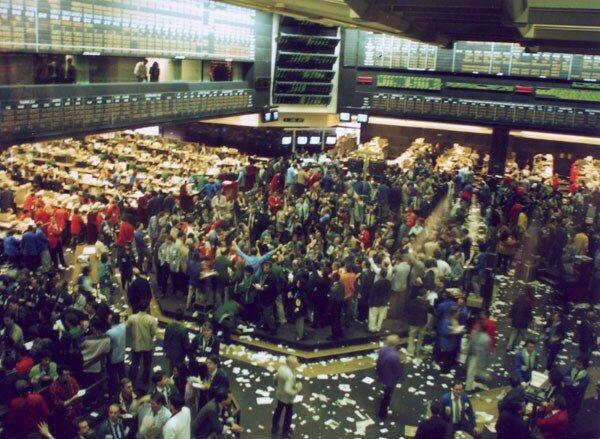 Торговля деривативами в Чикагской торговой палате